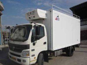 کامیون مخصوص حمل و نقل قارچ
