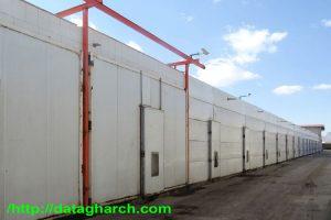 سالن های پرورش قارچ در ایران