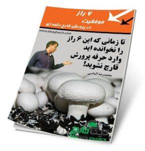 کتاب 6 راز موفقیت در پرورش قارچ